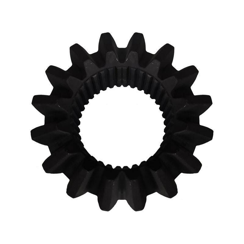 Полуосевой колесный погрузчик с большим отверстием